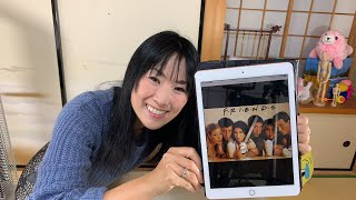 """TV Series """"friends"""" helps me learning English !? ドラマ「フレンズ」!😆Breakfast with Yoko from Kyoto, Japan"""