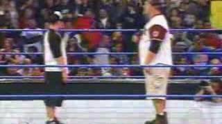 Jhon Cena V.S Big Show rap battle
