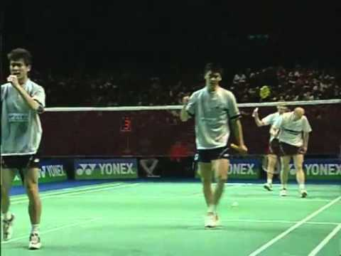 Cai Yun & Fu Haifeng vs Jonas Rasmussen & Lars Paaske All England 2005 Men Double Final