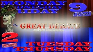 NumbedSkull 💀 the GREAT DEBATE - a gameshow conversation