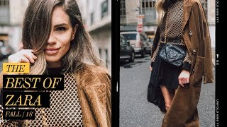 ZARA FALL FASHION TOP PICKS 2018 / LOOKBOOK