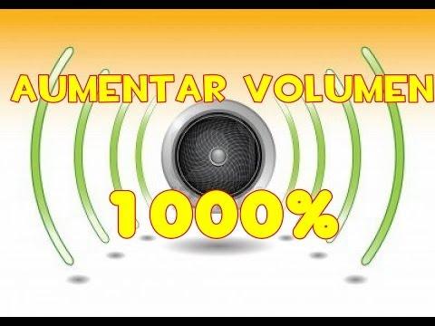 Aumentar volumen de pc 1000% sin programas