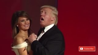 Donald Trump Dancing With Melania Trump at Inaugural Ball Liberty in Washington WONDERFUL SIGHT!