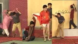 Police Muqabla | Nasir Chinyoti | Sajan Abbas | Tariq Teddy - Comedy Stage Drama Clip