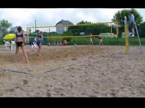 Półfinał Mistrzostw Polski Młodziczek W Siatkówce Plażowej Masie - 2013