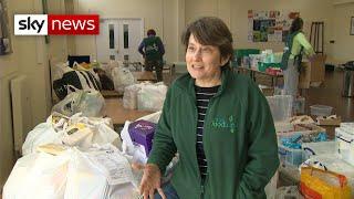 Coronavirus: Dramatic rise in foodbank usage