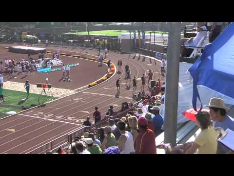 Pac 12 Championships 2013 400M Hurdles Mens prelims and finals