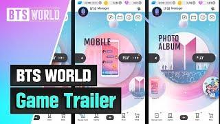 BTS WORLD Game Trailer
