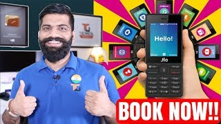 How to Book Jio Phone? 500Rs.? Jio Phone Detailed Specifications