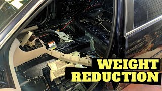 Weight Reduction | Ep006 - BMW e46 Track/Race/Drift car build