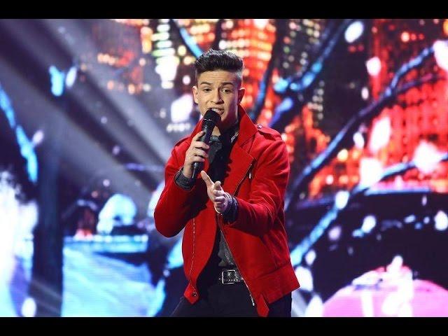 """Dean Martin - """"Let it snow"""". Vezi interpretarea lui Endy Glikman din a doua gală live X Factor!"""