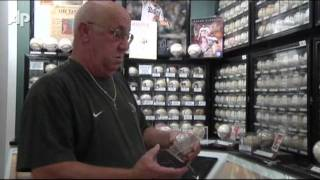 Fla. Man Shows Off Priceless Baseball Collection