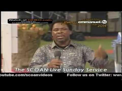 SCOAN LIVE SERVICE WITH PROPHET TB JOSHUA  SUNDAY 5 JANUARY 2014 2