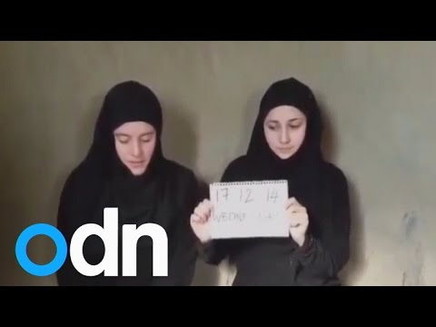 Italian women held hostage by Syrian Islamists 'appeal for salvation' in video
