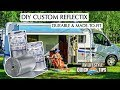 Keep The Heat Out! Custom Reflectix RV Window Insulation - RV Quick Tips