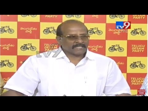 TDP MLC Babu Rajendra Prasad Press Meet || LIVE - TV9