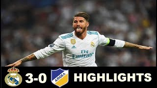 Real Madrid vs Apoel Nicosia 3-0  Extended Highlights - Champions League - 13/9/2017