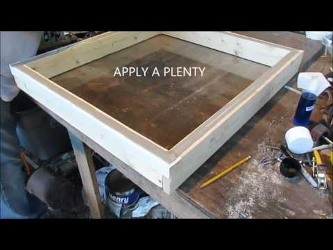 How To Make A Skylight Part 2