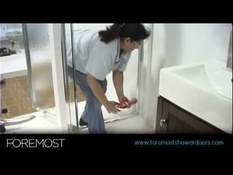 Pivot Shower Door Installation by Foremost