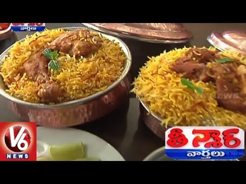 Peddapalli Bathukamma Hotel Provides Tasty Food To Costumers | Teenmaar News | V6 News