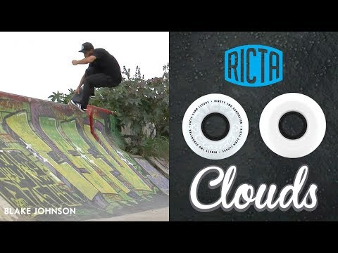 All Terrain Skateboard Wheels | Blake Johnson - Ricta Clouds