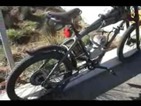 Motorized bicycle Hot Wheels Felt jayfilm.wmv