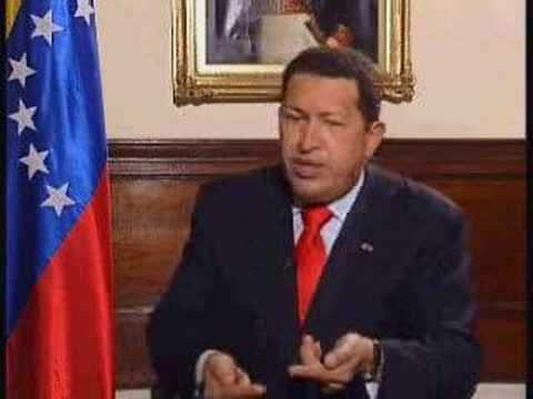 Hugo Chaves of Venezuela = Bush Oil Cabal
