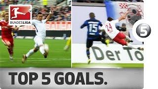 Sensational Top 5 Goals on Matchday 18