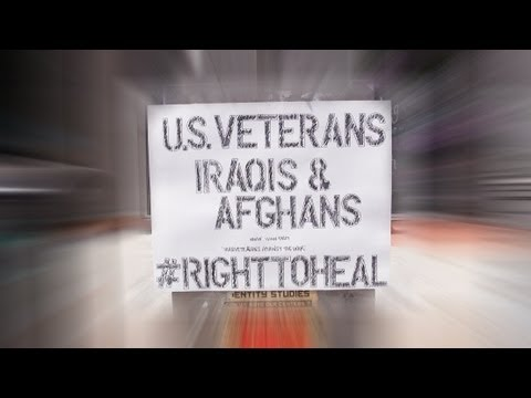 10 Years of War in Iraq: Right To Heal Initiative/Action in Austin, TX