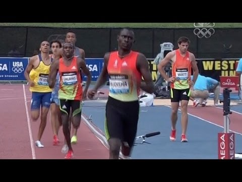 David Rudisha runs fastest 800m ever in US at 2012 adidas Grand Prix