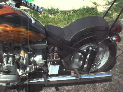 Мотоцикл урал со стартером