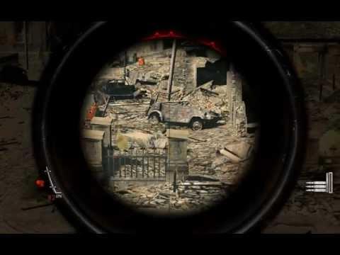 Прохождение игры Sniper Elite V2 от ScrollsGamesTV Часть 1