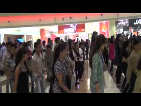 Flash Mob Nirankari Youths Korum Mall Thane 170113 Mp4 Video Mp4 Object video