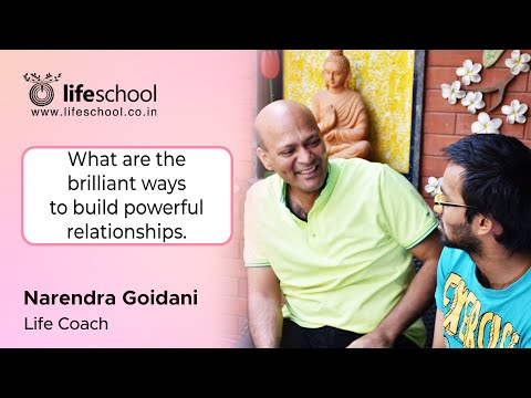Relationships (in Hindi) - Motivational, Inspirational Training - Narendra Goidani - Lifeschool video