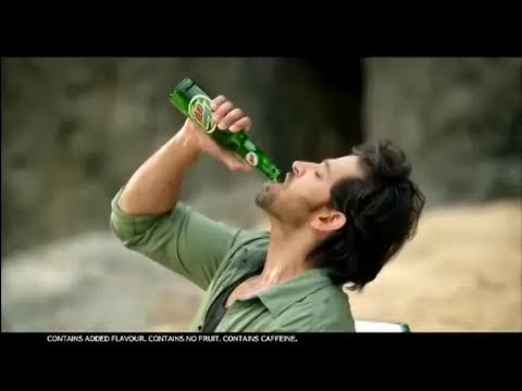 Mountain dew 2013 New Ad featuring Hrithik Ro...