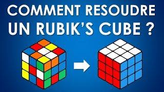 Comment résoudre un Rubik's Cube ? Méthode pour débutants (Vidéo interactive)