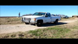 1999 GMC 3500 pickup truck for sale | no-reserve Internet auction January 13, 2016