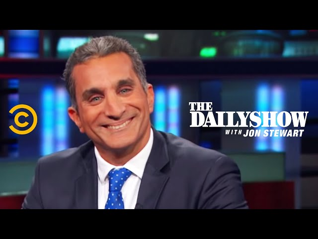 The Daily Show - An Egyptian Satirist in America - Bassem Youssef