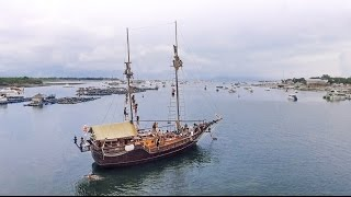 BACKFLIP FROM THE TOP OF THE PIRATE BOAT IN BALI   VLOG 011