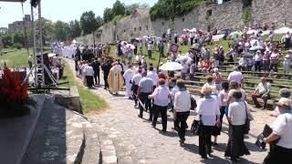 Pünkösdi Szentmise közvetítése Sárospatakról