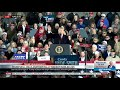Showing the Crowd at Tupelo, MS Trump Rally
