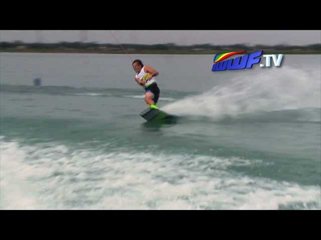 Harley Clifford wakeboard final run - Indonesia