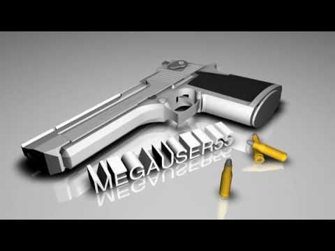 3D Desert Eagle Intro