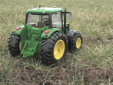 Rc Tractors With Plows John Deer RC Tractor