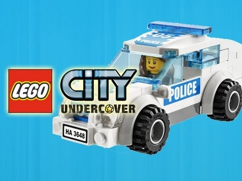 LEGO City Undercover - Emergency Vehicles Showcase = Time to Rescue