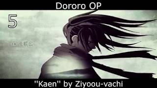 Top 20 Anime Openings of Winter 2019 (First Version)