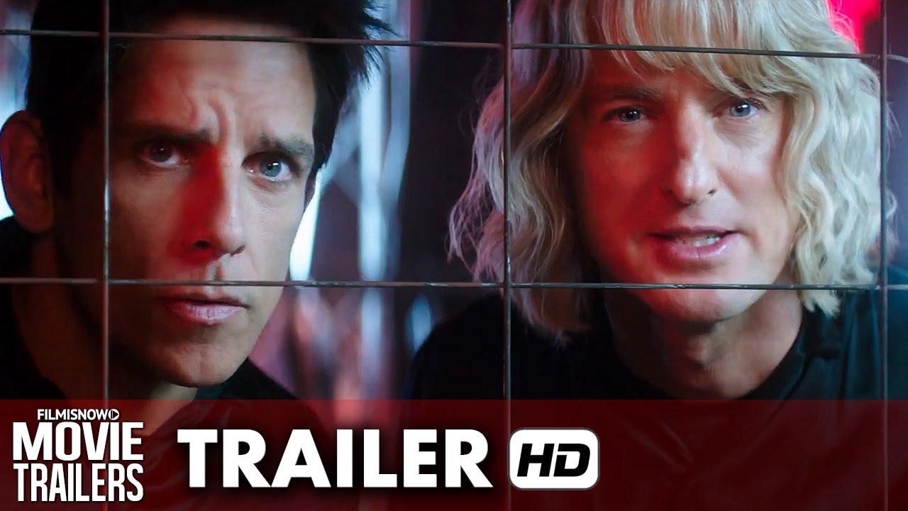 Zoolander 2 ft. Ben Stiller, Owen Wilson - Official Trailer (2016) HD