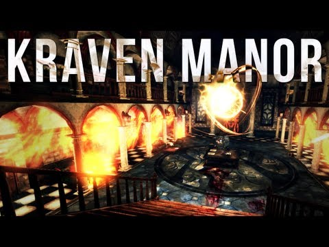 Kraven Manor | BEST HORROR GAME EVER