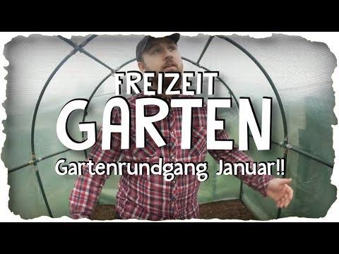 GARTENRUNDGANG JANUAR | Hühner, Gewächshaus reparieren!, Hochbeet bauen! | | Freizeit Garten