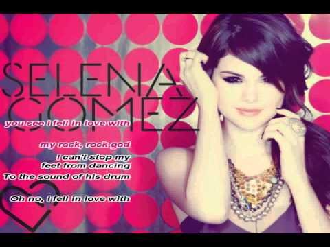 Sick  Lyrics Selena Gomez on Selena Gomez   Rock God  Karaoke Instrumental  With Lyrics Video